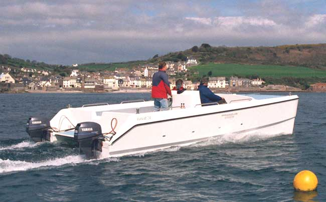 E24 power catamaran sciox Image collections